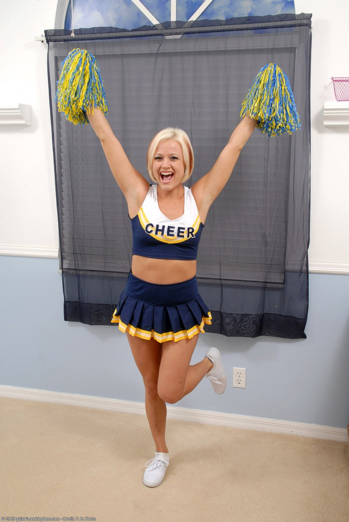 Jasmine Jolie Cheerleader